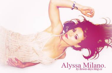 Alyssa Milano design/blend