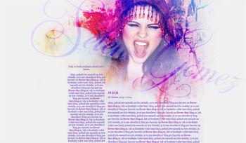 Layout #03 - Selena Gomez
