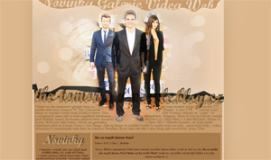 Layout #05 - The Tomorrow People n.02 by CleoFD