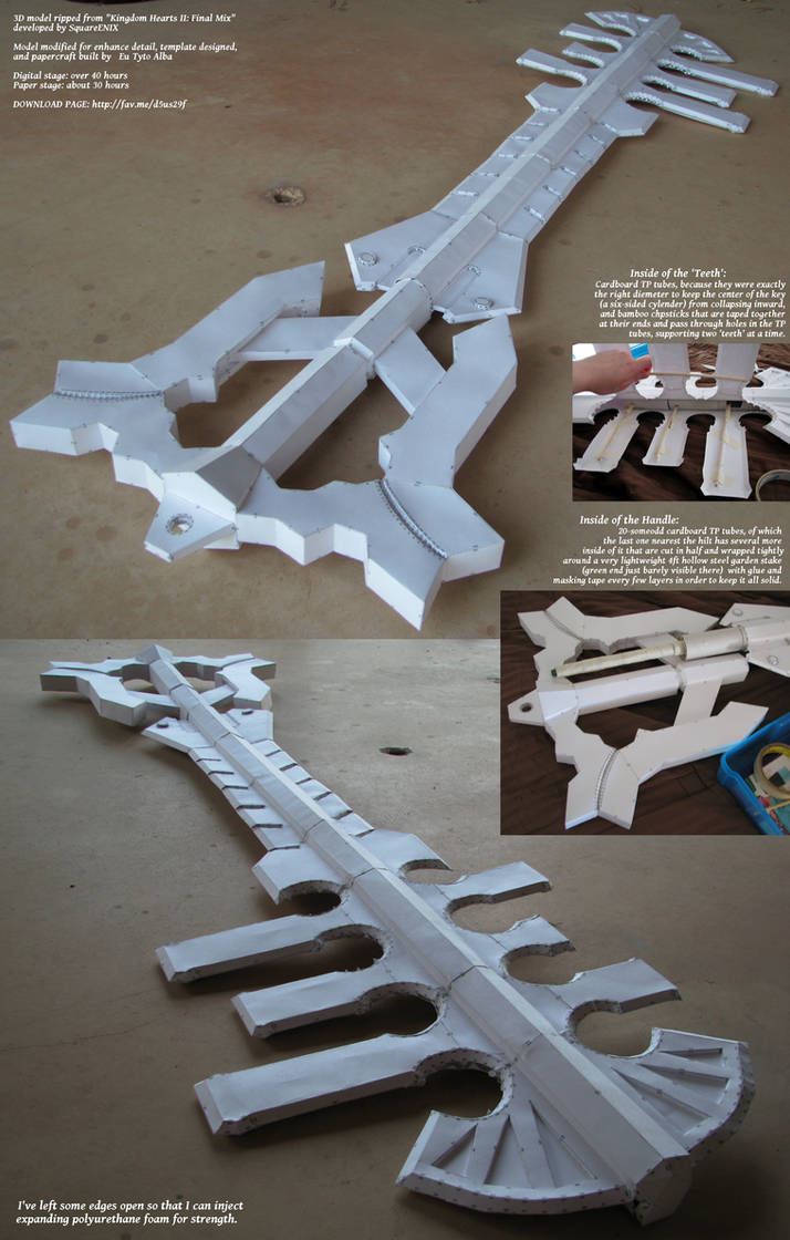 Ends of the Earth Papercraft Build