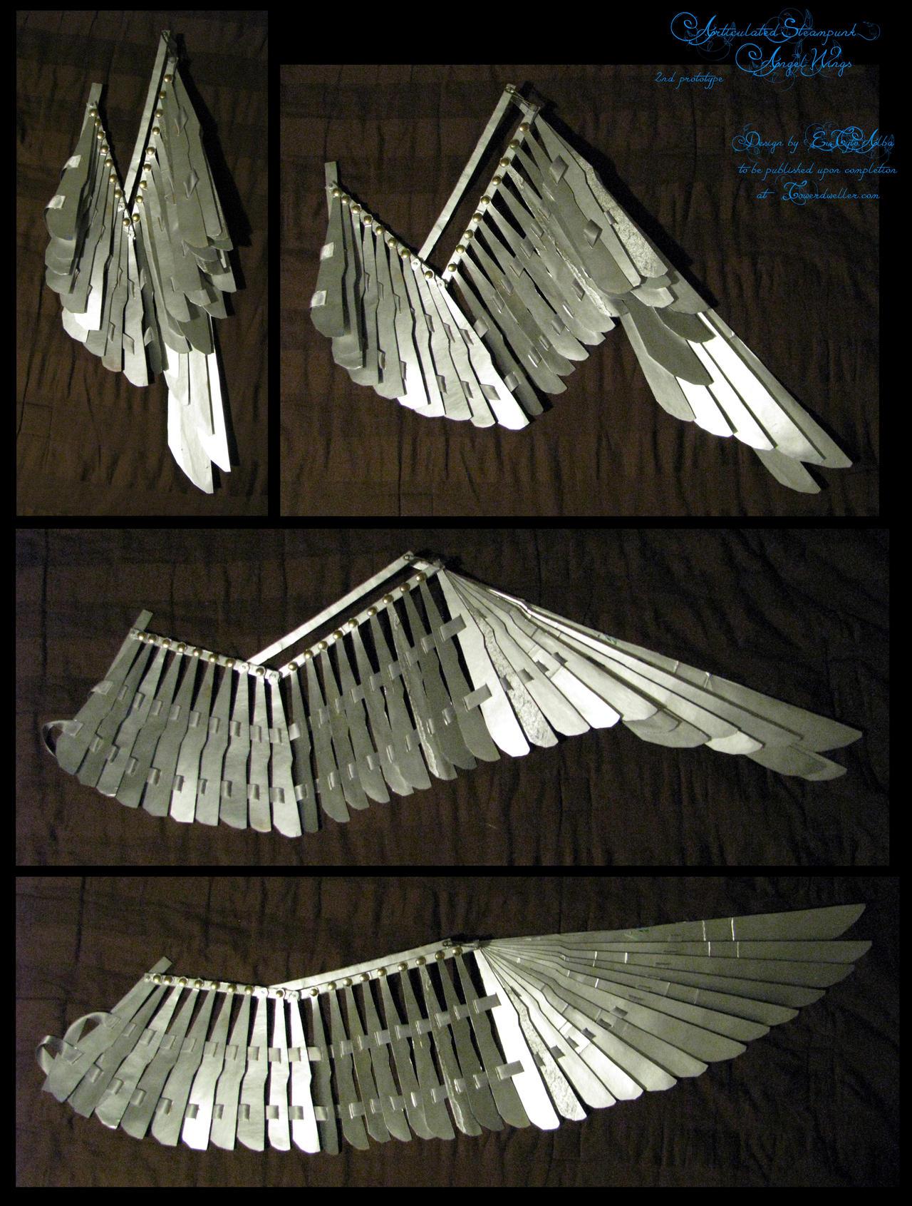 1/3rd-scale Folding Wing Prototype +VIDEO by EuTytoAlba