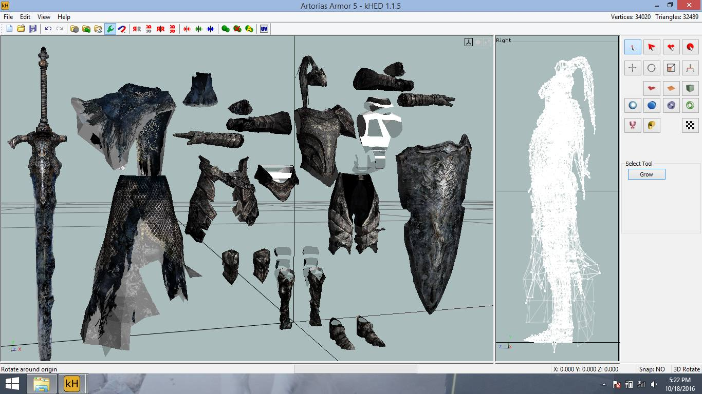 Armor of Knight Artorias WIP by EuTytoAlba on DeviantArt