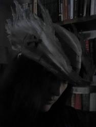 Bloodborne Papercraft - Grey Wolf Cap BUILT!!!