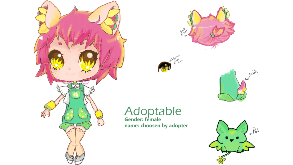Adoptable :OPEN by ultimate-hedgehog