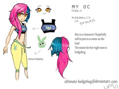 My Oc by ultimate-hedgehog