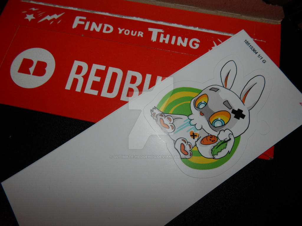 Here is what my sticker design looks like by ultimate hedgehog