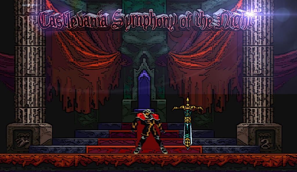 Castlevania Symphony Of The Night Wallpaper By GoldCobra84
