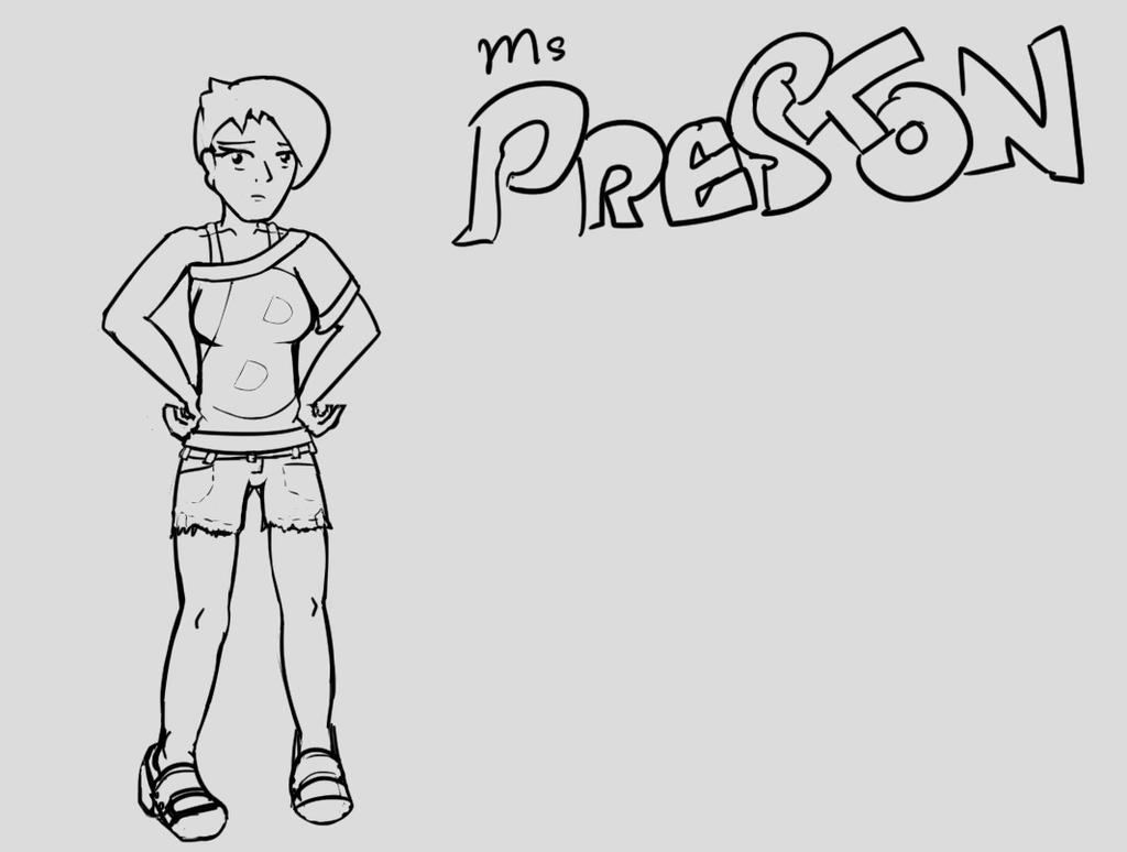 R63 - Ms. Preston by Hamcha