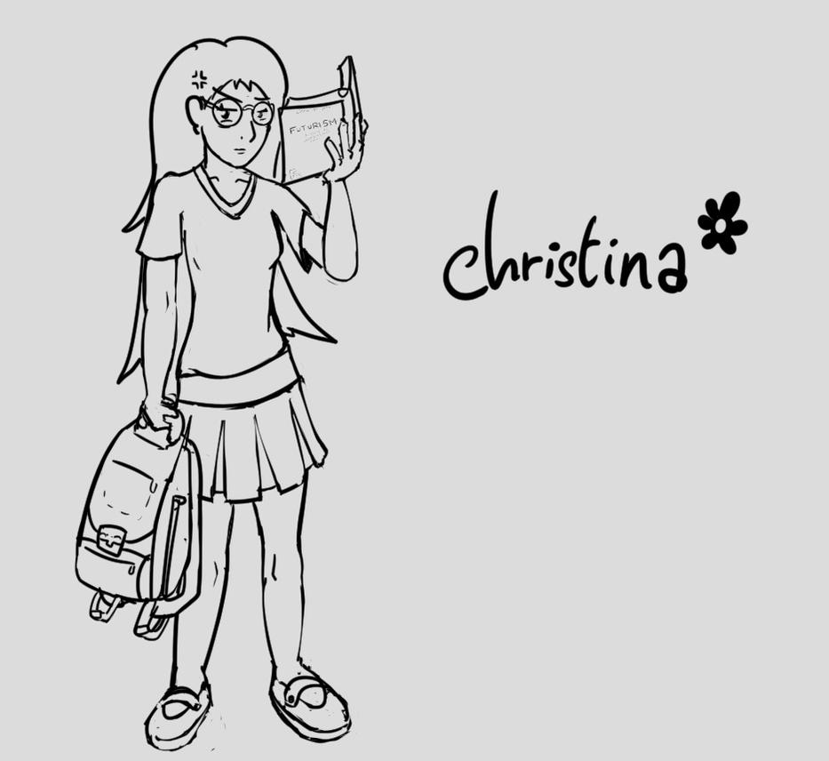 R63 - Christina by Hamcha