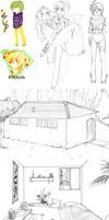 Sketch Dump 9