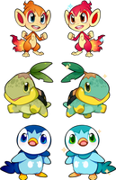 Which Starter Did You Choose? IV by loverofscythe