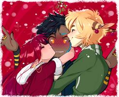 Secret Santa for Fawnlen!! by loverofscythe