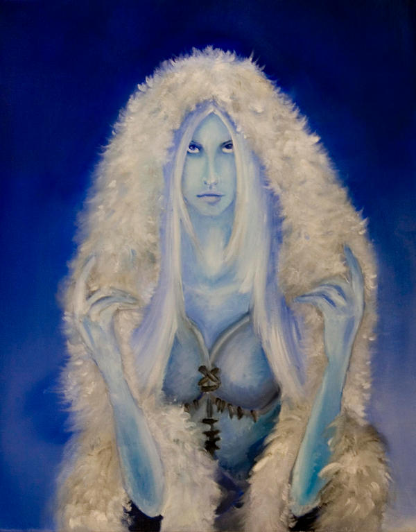 Goddess Skadi by venatorfend