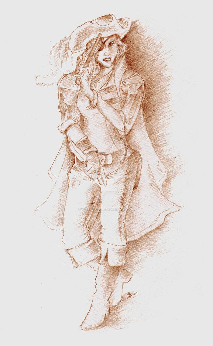 Pirate Queen by venatorfend