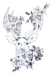 Rose Stag