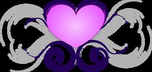 Heart with Swirls by xsherbearx