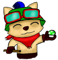 Here...Have a Teemo. by xsherbearx