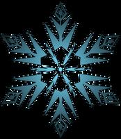 Frozen - Elsa's Snowflake by xsherbearx