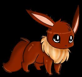 Eevee colored by xsherbearx