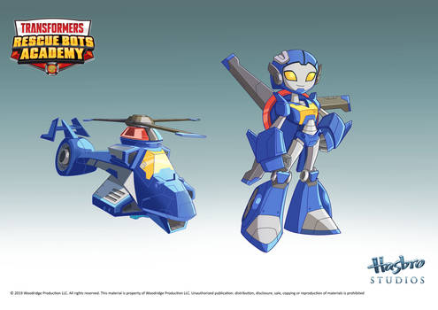 Rescue Bots Academy Whirl Concept Art 2