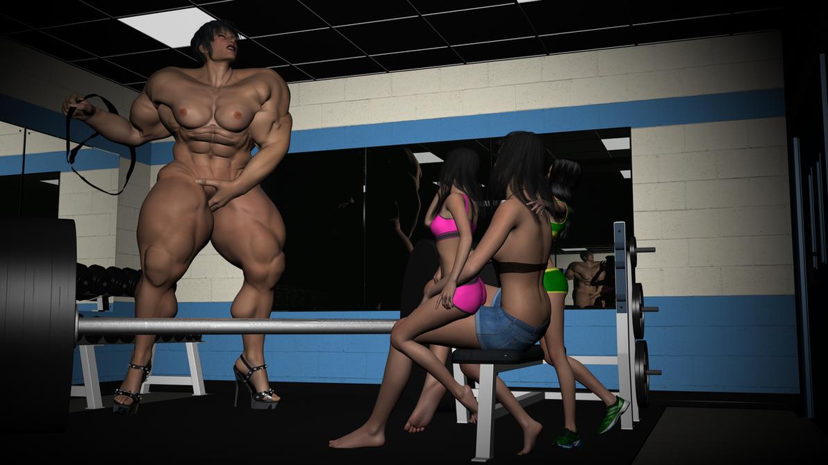 Aefroch Gym Showing Off 2 by SteveBlazer