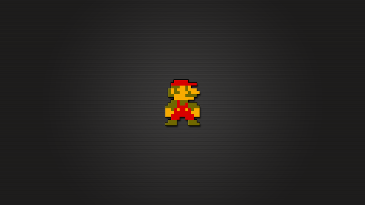 super mario 8bit wallpaper hdlachriz on deviantart