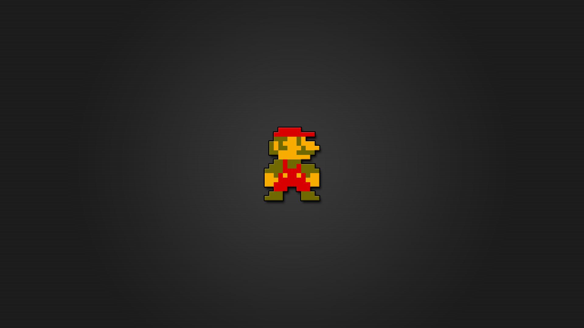 Super Mario 8bit Wallpaper HD