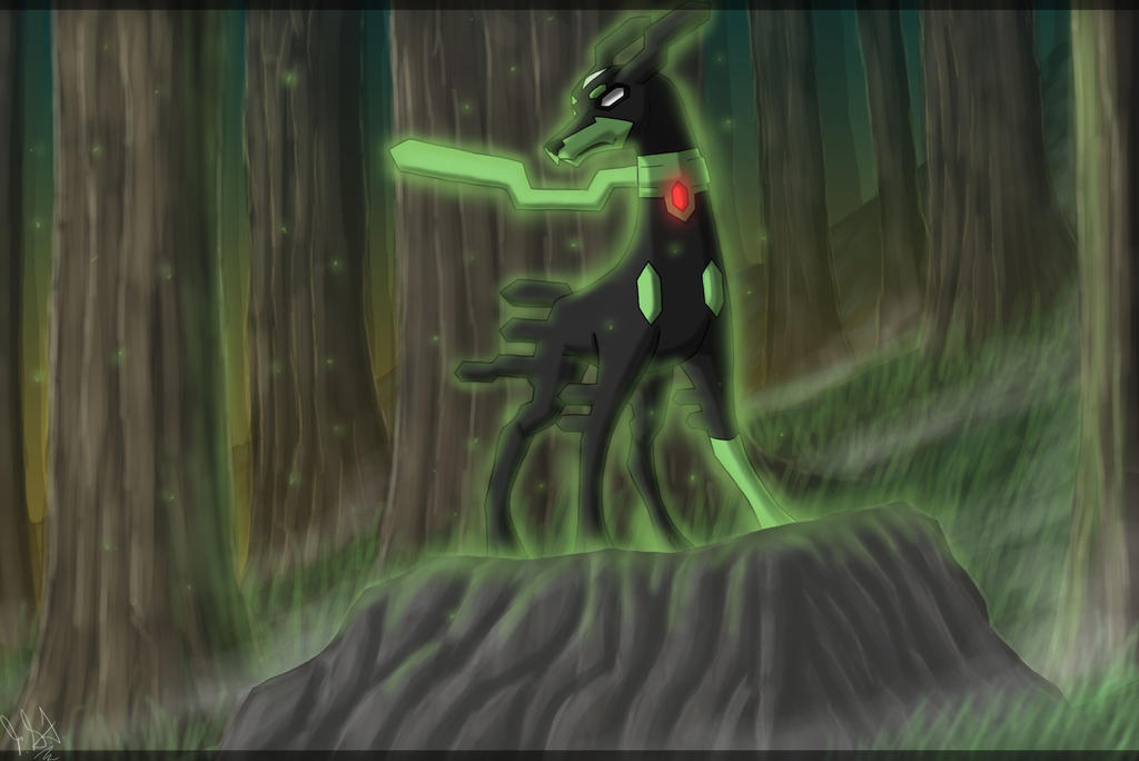 Zygarde on Pokemon-Legendaries - DeviantArt