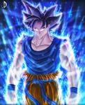 Ultra Instinct Goku by Eclipse4d