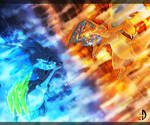Charizard X/Y by Eclipse4d