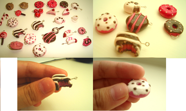 Polymer clay stuff... by Aariiadne