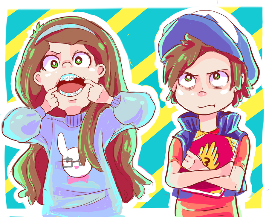 GRAVITY*FALLS by the-escape-velocity