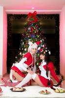 Chocola From Vanilla e Chocola Christmas Version by MarinyanCosplay
