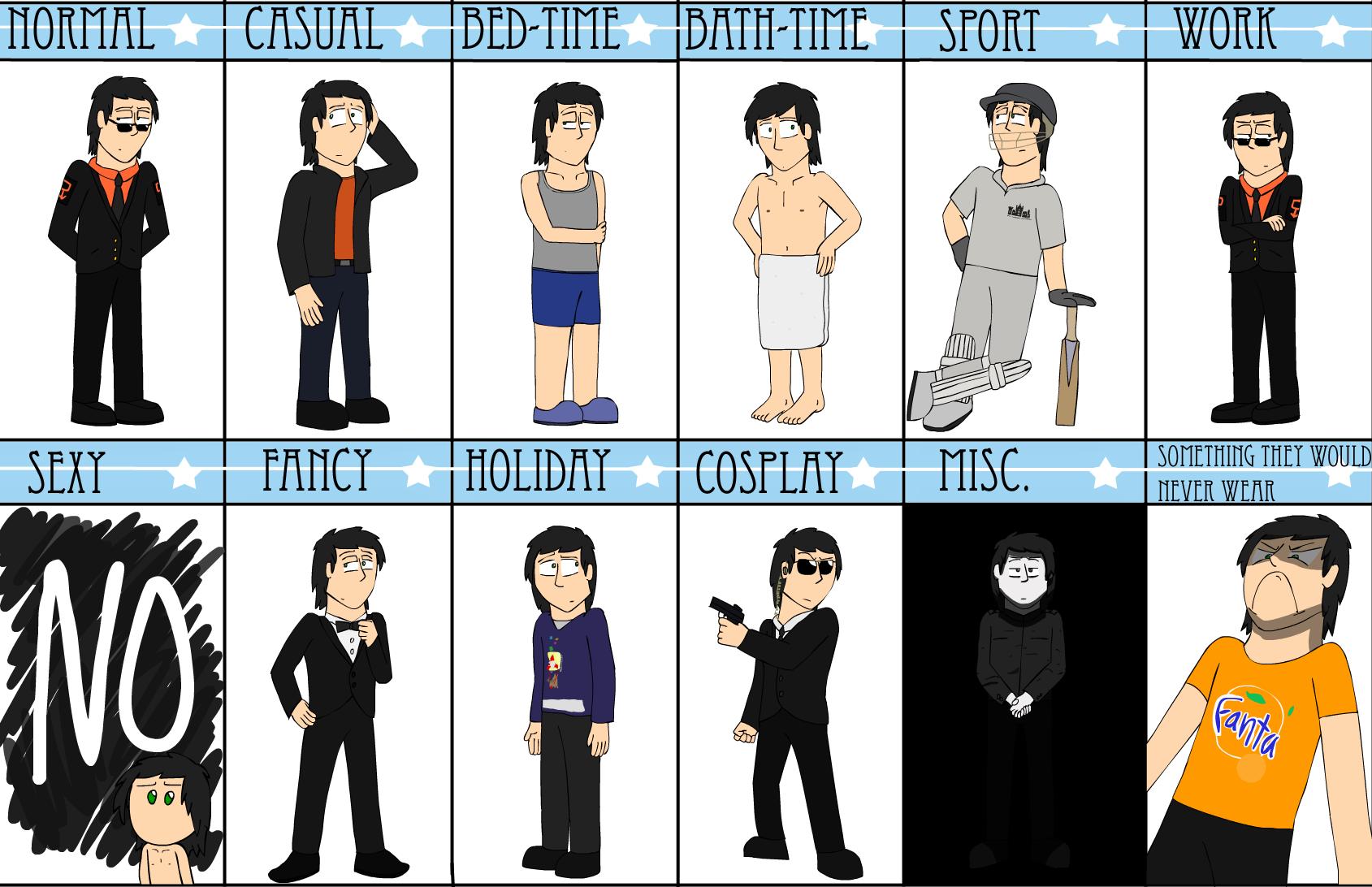 Outfit Meme - Oblivion by TurboJUK