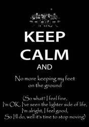 No More Keeping My Feet On The Ground by alement