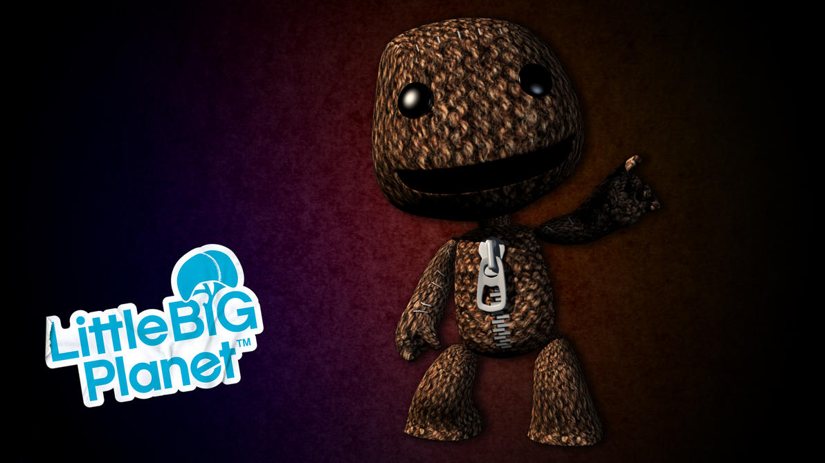 little big planet wallpaper by elrohironip on deviantart