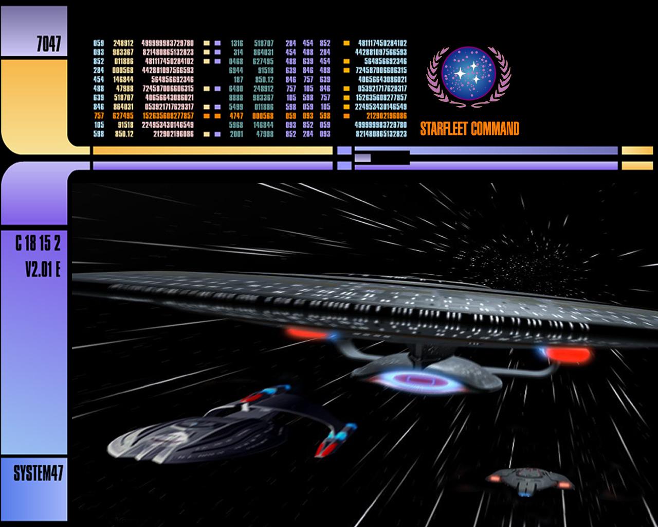 Star Trek LCARS System 47 by Unimmatrix