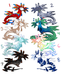 Flatsale Dragamanders - Avian (CLOSED)