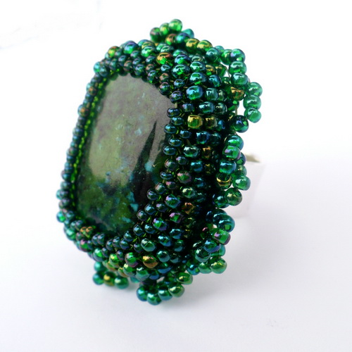 Amazonia Ring by AillilStudio