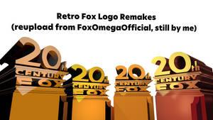 Retro Fox Logo Remakes v6