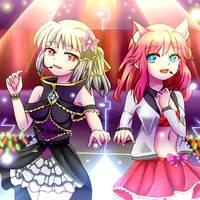 Glittering Idols!!! by Josiah23Art