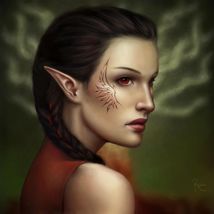 Agrona Tabris by DragonReine