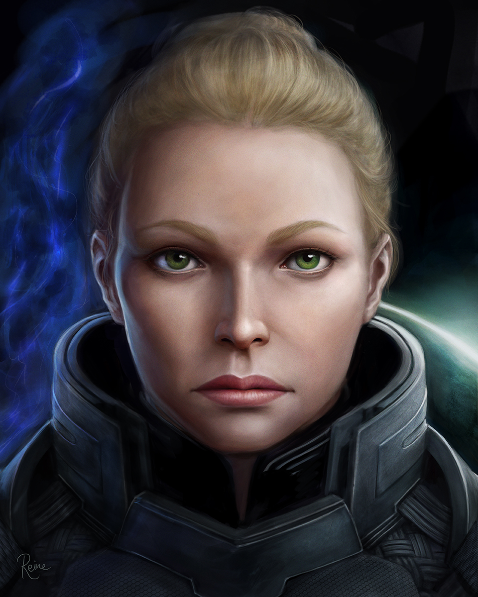 Meghan Shepard by DragonReine