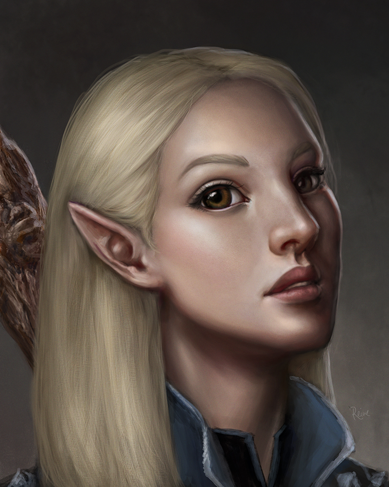 Adara Carey (Warden's Vigil) by DragonReine