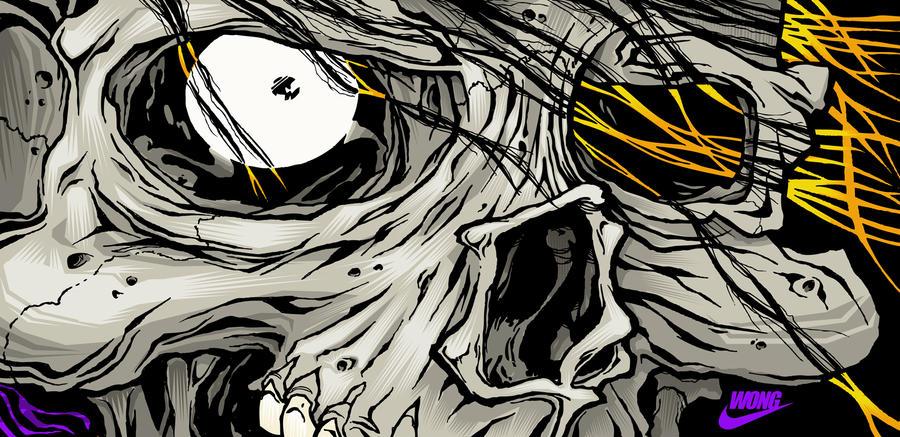 Skull 02 by sonnywong001