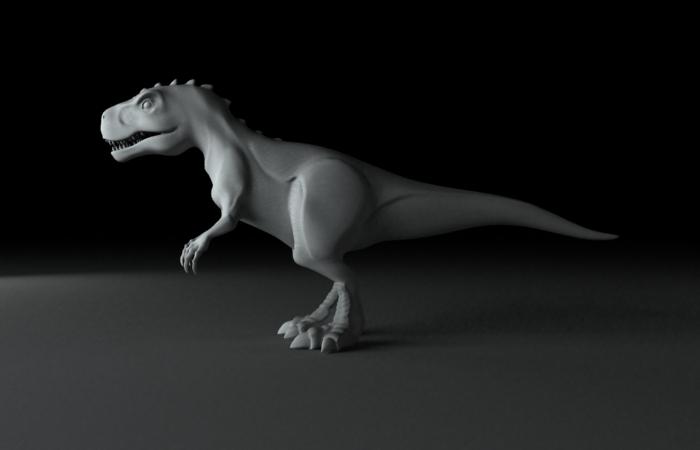 tiranosaurio by sealtiel