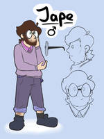 Jape ref which is new and cool. by Brumaticalpie