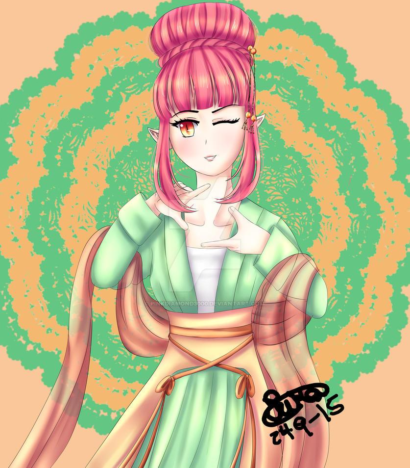 Dragon princess by PINKDIAMOND3000