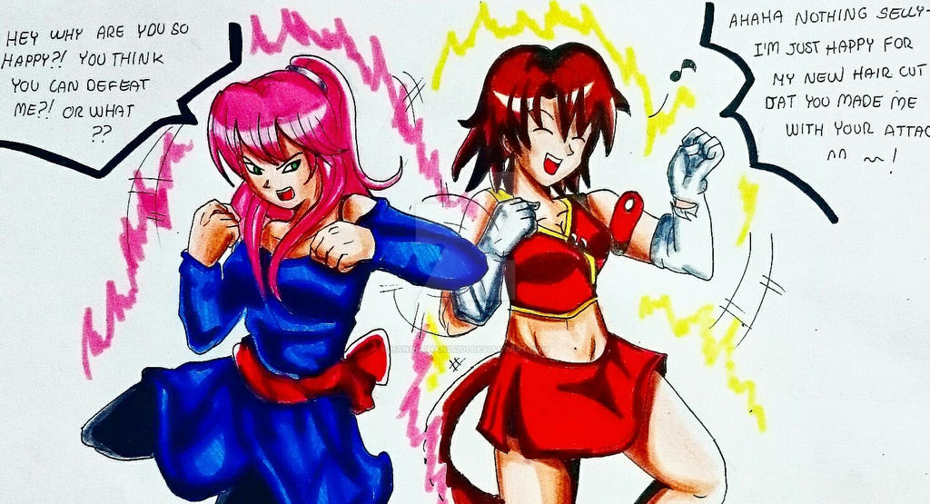 TOURNAMENT 9: Selly vs Kiara by Hanoi-Chan25201 on DeviantArt