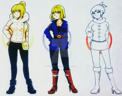 [NYP] Ginoids (Female Androids) || CLOSED by Hanoi-Chan25201